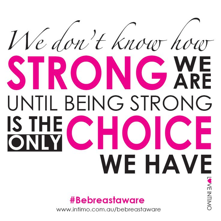 Together we can spread the message that early detection is key in the fight against breast cancer.