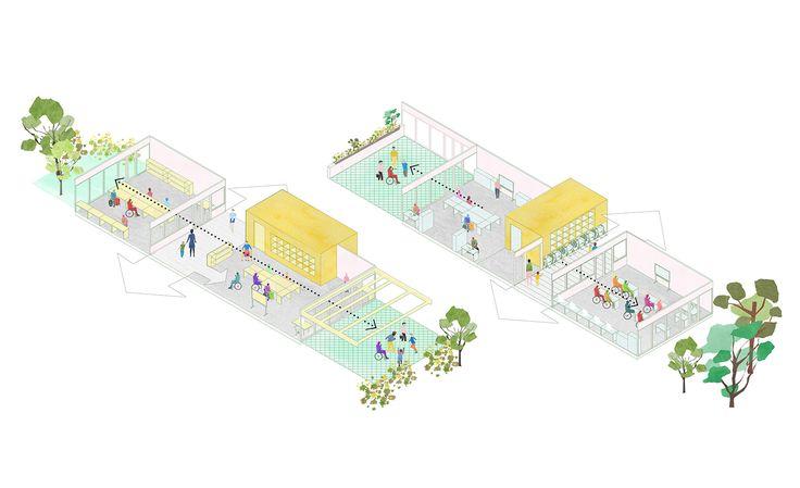CIVIC architects - Hazelaar School - Rotterdam | Iso
