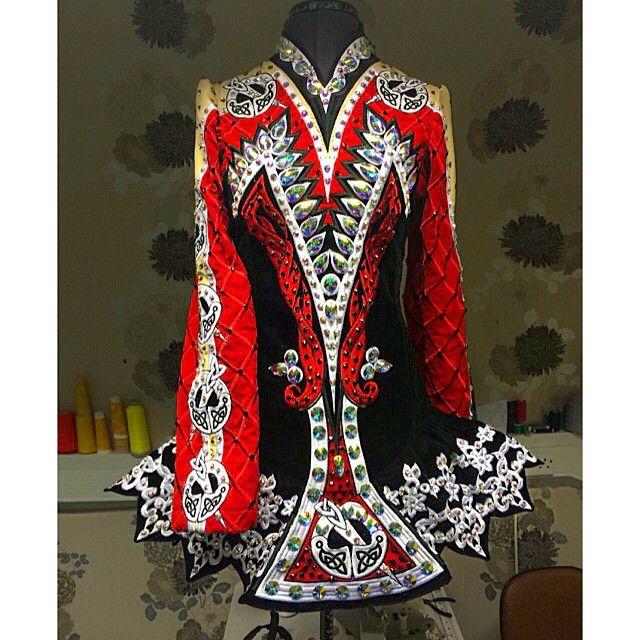 Celtic Solo Irish Dance Solo Dress Costume I love this one
