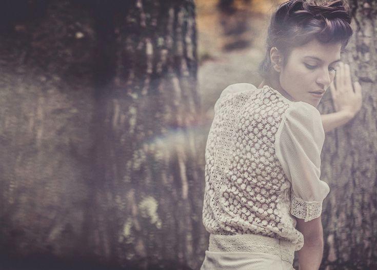 Laure de Sagazan - Nouvelle collection - 2013 - Robe de mariee - La mariee aux pieds nus