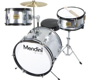 Mendini 3-Piece Junior Drum Set - Incredibly low priced - For 3 - 9 year olds