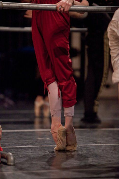 Normal people think her feet are gross and unnatural. Dancers see the beauty, strength and dedication.