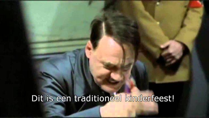 Hitler is fan van Zwarte Piet. Beetje té maar wel goed gedaan.
