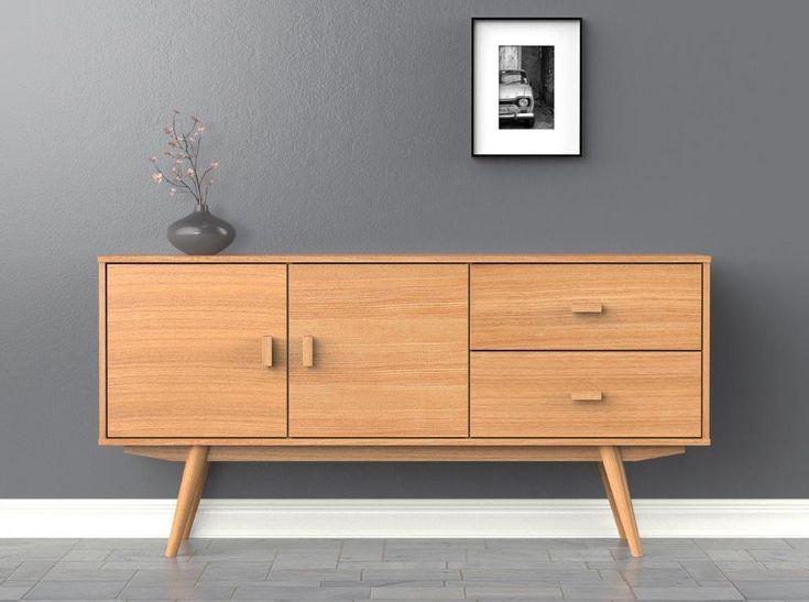 Scandi Sideboard - Large - Buffet - Ash - Scandinavian Style Furniture