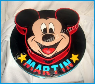 TORTA DECORADA CARA DE MICKEY (II) | TORTAS CAKES BY MONICA FRACCHIA: Mis Tortas, Decorative Cakes, Cake Decorada, Mickey, Minnie Cakes, Decorada Cara