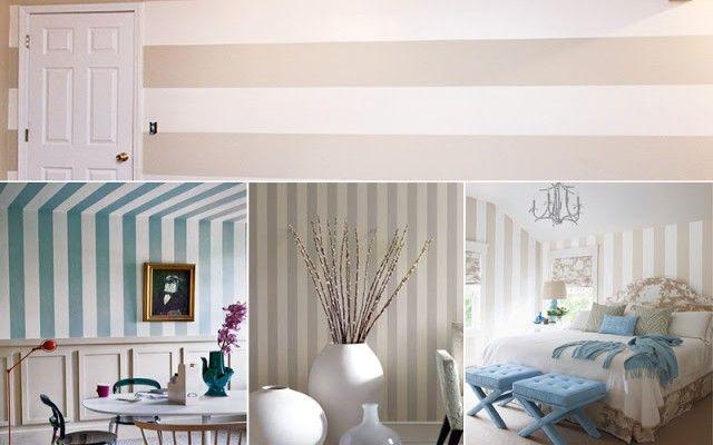 Risultati immagini per tinteggiatura pareti a righe