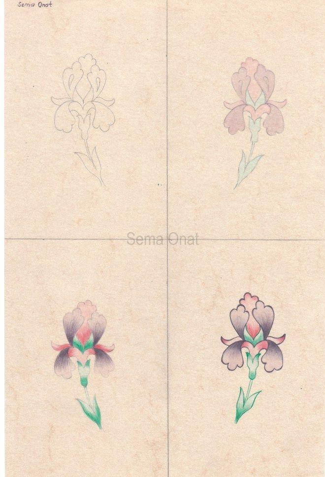 Tezhip Sanatında Çiçek Tarama Tekniği