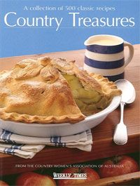 Country Treasures - Country Women's Association CWA Used softcover cookbook 500…