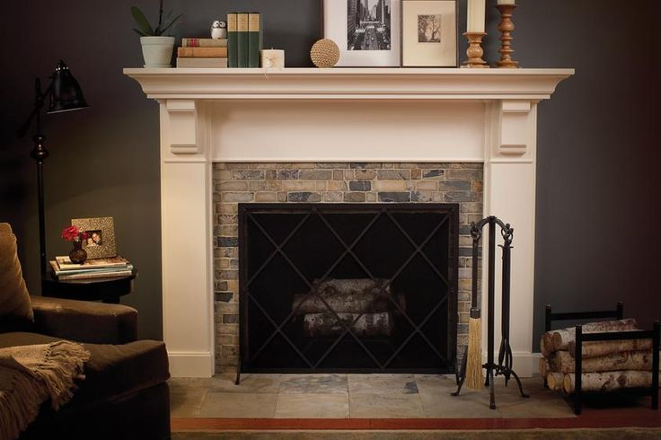 Home Decor, Dark And Grey Ideas For Room Wtih White Fireplace Mantels With The Beautiful And Elegant Design Ideas With Some Books And Accessories Over The Fireplace And Floor Lamp With Sofa ~ Some Beautiful Pics Of Fireplace Mantels For Your Reference
