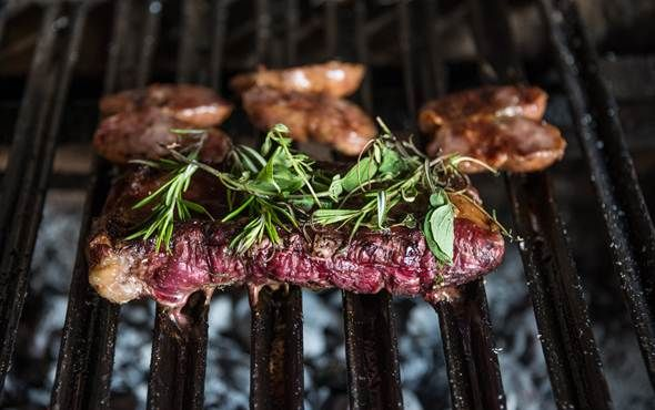 Mouth-watering traditional Argentinian Steak, Argentina