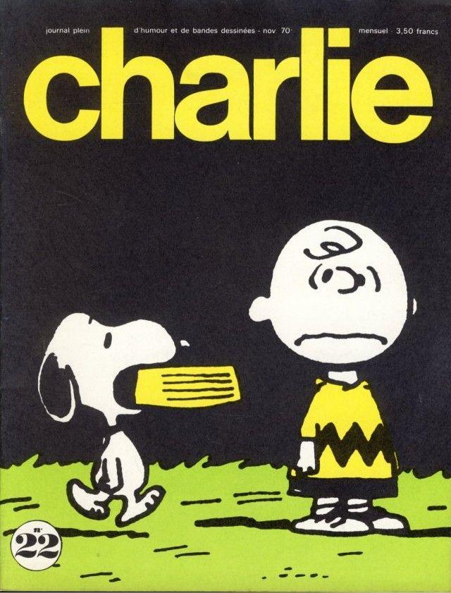 Charlie Mensuel - # 22 - Novembre 1970 - Couverture de Schulz