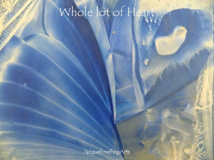 Whole lot of Heart, encaustic art by JacquelinePopArts  - Art with a Heart - Valentijn