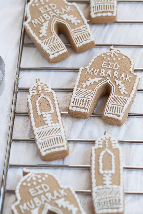 Fabulous Eid cookies. Perfect for edible gift and sharing with neighbor, family and friends.