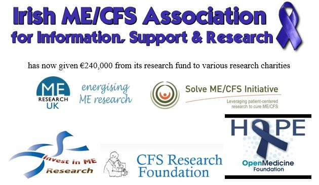 We're giving €10,000 to @OpenMedF.  We've given €240,000 to research funds over last 15 years  (statement 2/2) (May 22, 2017)    http://www.twitlonger.com/show/n_1spt22p   #MEcfs