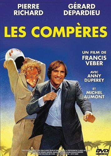 Les compères un film de francis veber avec pierre richard, gerard depardieu,anny duperey, michel aumont,