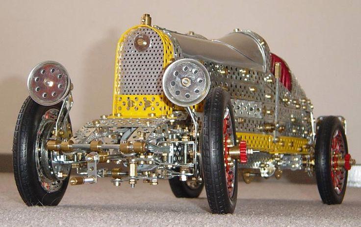 Bugatti made in Trix, a variant of Meccano