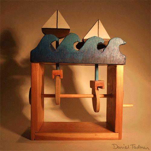 Resultado de imagen de wooden animated toys