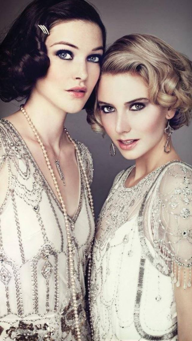 the Gatsby look1920 S, 1920S Wedding, Fashion, Hairmakeup, Gatsby, Dresses, Hair Makeup, 20S Style, Wedding Makeup