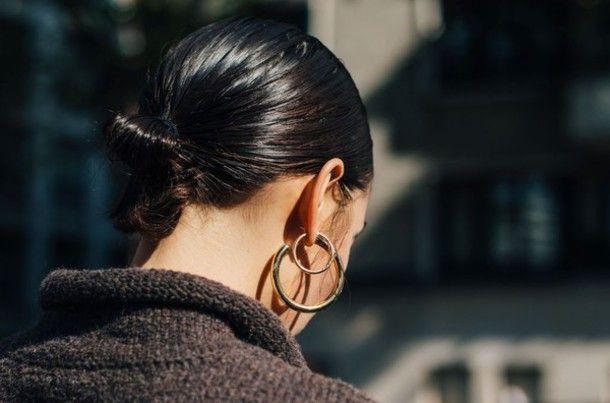 Jewels: fashion week street style fashion week 2016 fashion week paris fashion week 2016 earrings