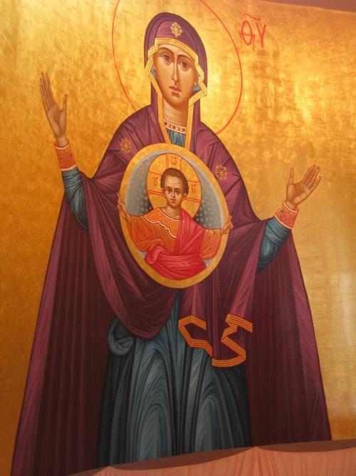 The Great Panagia, inside St. Basil the Great Greek Orthodox Church, San Jose, California