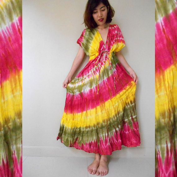 Hey, I found this really awesome Etsy listing at https://www.etsy.com/listing/186418077/pink-yellow-olive-green-yellow-tie-dye