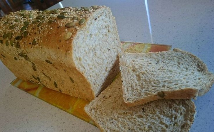 'Lil Love D.I.Y. - Tutorials and Recipes: Jumbo Wholemeal Grain Bread Loaf by Lailah Rose