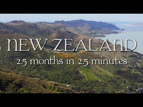 New Zealand: 2.5 months in 2.5 minutes