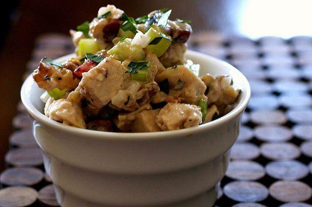 Cranberry Walnut Chicken Salad | Salad Recipes | Pinterest
