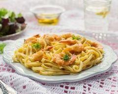 One pot pasta aux crevettes et lait de coco Ingrédients
