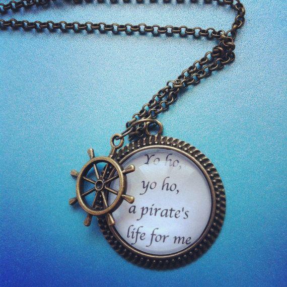 yo ho yo ho pirate quote pirates of the caribbean by 2tinyhearts, $25.00