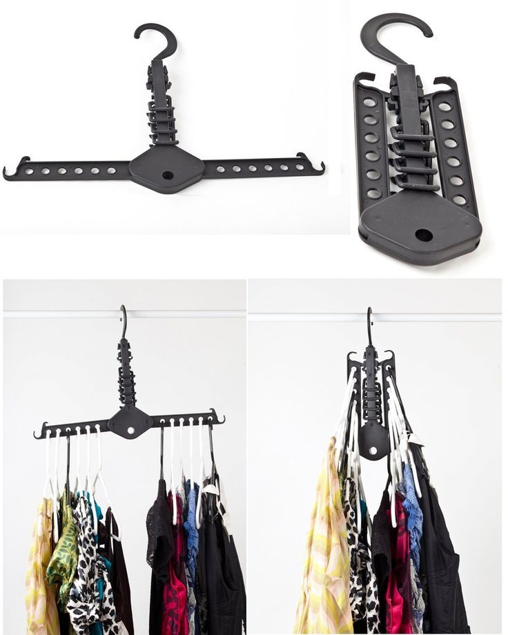 Best 25+ Space saving hangers ideas on Pinterest | Closet ideas for small  spaces, Curtains ring top and Closet hacks