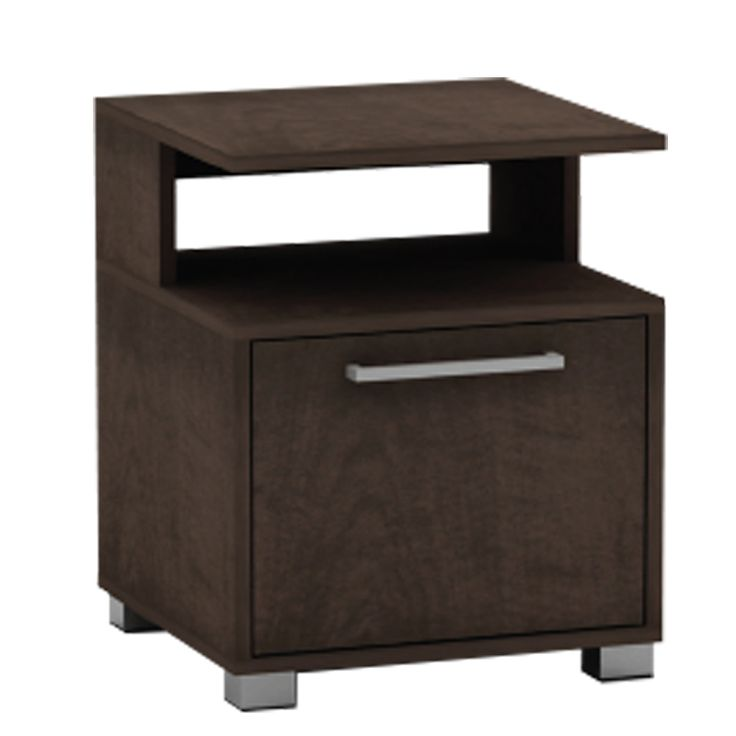 Bedside table Decon wenge 40x40x50 Ε7723,1-ΜΒ