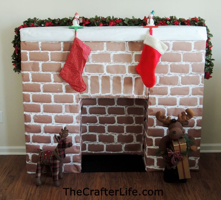 Fireplace Design diy cardboard fireplace : Best 25+ Cardboard fireplace ideas only on Pinterest | Decorate ...