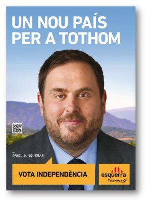 Esquerra Republicana de Catalunya. Cartell electoral: autonòmiques 2012