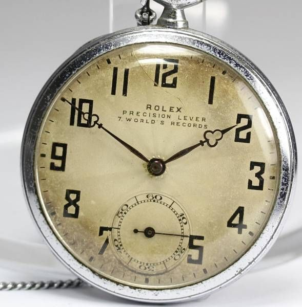 Rolex ロレックスプレシジョンアンティーク手巻懐中時計 Watch Antique ¥75800yen 〆05月18日