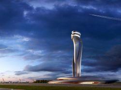 Le futur aéroport d'Istanbul aura une tour de contrôle en tulipe