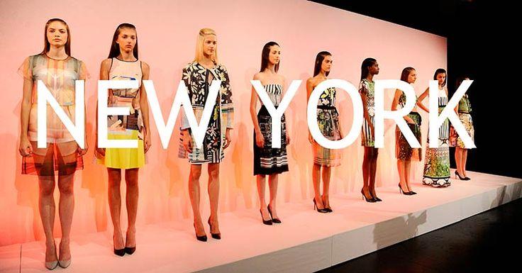 La New York Fashion Week presentó las tendencias primavera/verano 2015. Una New York Fashion Week liderada por Von Furstenberg, Versace y Victoria Beckham.