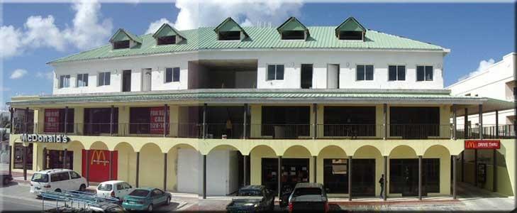 Project: Mangrove building with restaurant, offices and appartments - Locatie: Simpson Bay SXM - Opdrachtgever: particulier - Rol: verantwoordelijk voor architectonisch en bouwtechnisch ontwerp - Periode 2004-2005