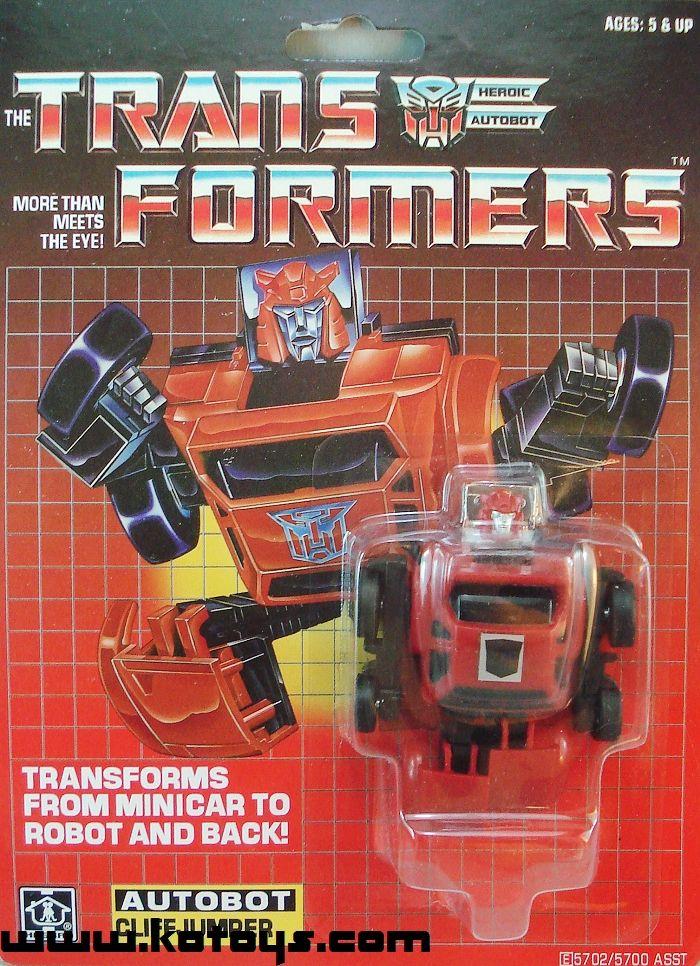 New Transformers G1 mini warrior Red Cliffjumper reissue brand new Gift ~~