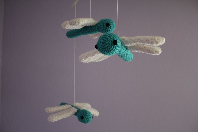 Ravelry: Dragonfly Mobile pattern by Emily Forrest