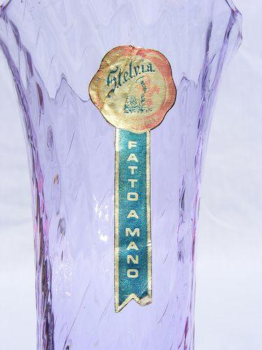 Stelvia alexandrite glass vase