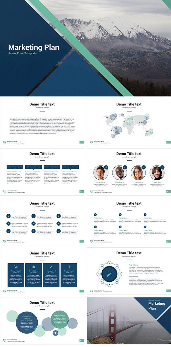 Download 25 free professional PPT templates for projects