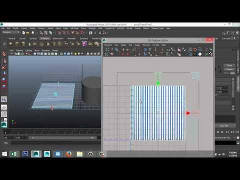 Maya tutorial : Basics of texturing explained
