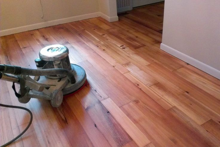 Paste Wax Hardwood Floor Finish