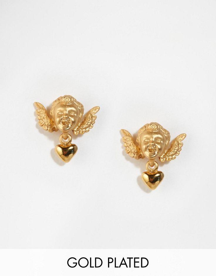 Image 1 ofBill Skinner Cherrub Stud Earrings