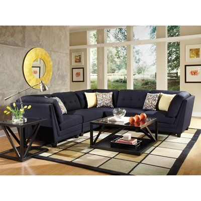 coaster fine furniture keaton sectional