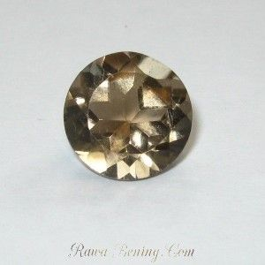 Smoky Quartz Round Cut 3.75 carat