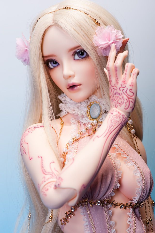 Beautiful Ball Jointed Resin Doll Dollhouse Pinterest