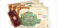 maps of the Diney World parks