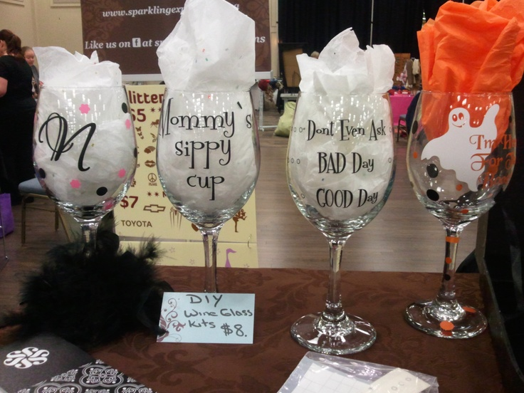 Best Silhouette Cameo Ideas Images On Pinterest Glass - Diy vinyl decals for wine glasses